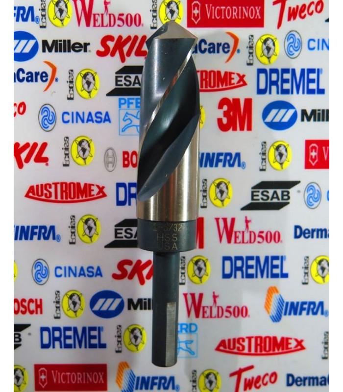 """Broca de acero alta velocidad 1 5/32"""" con zanco 1/2"""" Bosch"""