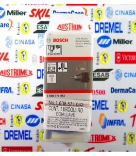"""Broquero con llave 1/2"""" Bosch"""