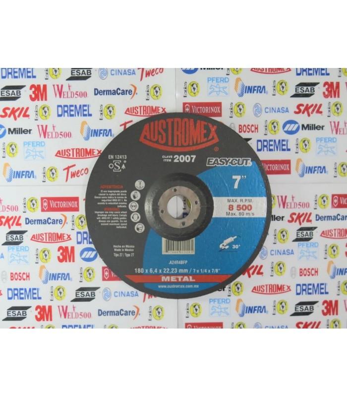 """2007-Disco de desbaste 7"""""""