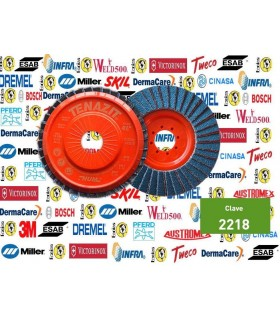 """2218-Disco laminado 4 1/2"""" G.80"""