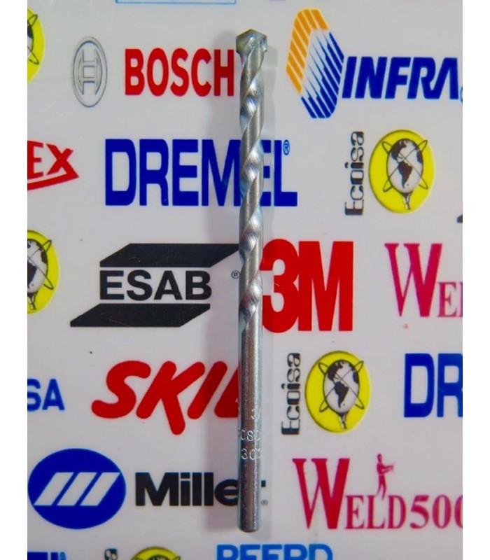 "Broca para concreto/piedra 3/16"" X 3"" Bosch"